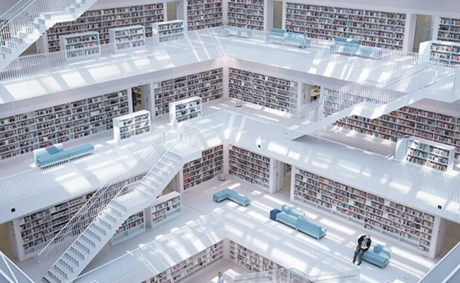 Perspectives - massive library